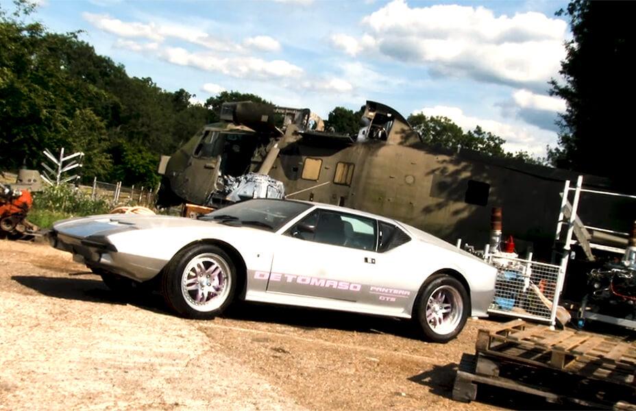 750HP De Tomaso Pantera GTS